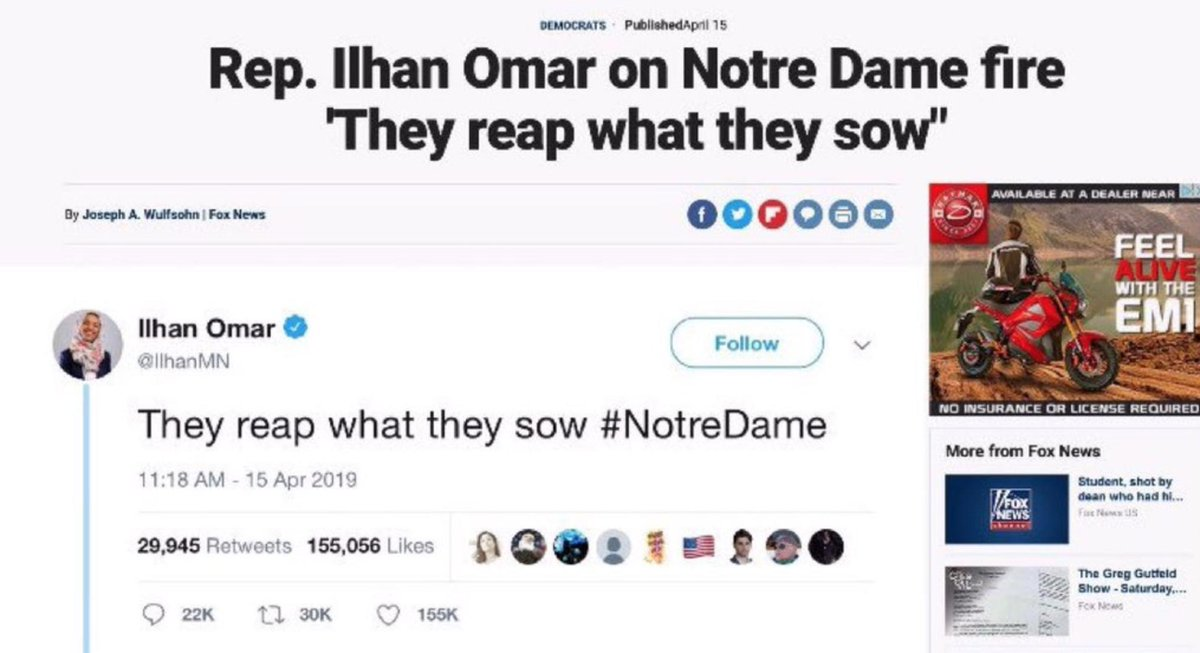 They reap what they sow #NotreDame